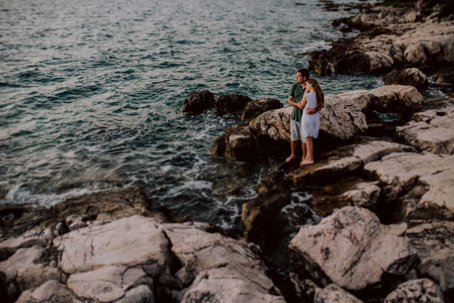 Engagement session in Hvar Croatia